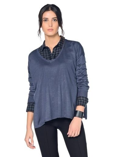 Vero Moda Bluz Mavi